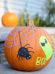 No Carve Pumpkin Decorating Ideas No Carve Pumpkin Decoration Simple Play Ideas