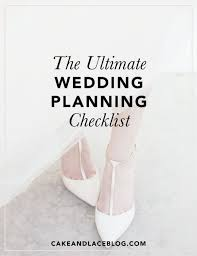 the ultimate wedding planning checklist cake and lace wedding