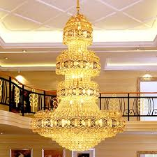 Chandelier Led Lights Modern Crystal Chandelier Lighting Fixture Gold Crystal