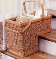 stair basket city comforts the blog