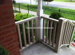 front porch post replacement