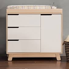 Babyletto Dresser Changing Table Babyletto Hudson Changer Dresser In Two Tone Grey And White Free