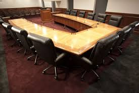 U Shaped Conference Table Custom Boardroom Tables Conference Tables Unique Concepts
