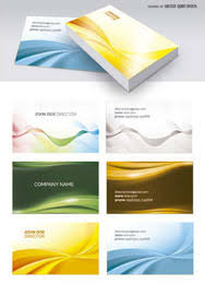 Abstract Business Cards Abstract Business Cards Templates Vector Download