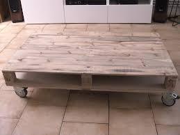 Meuble Exterieur En Palette by Tuto Fabriquer Une Table Basse En Palettes