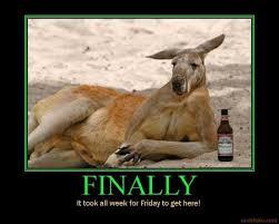 Finally Friday Meme - demotivational poster page