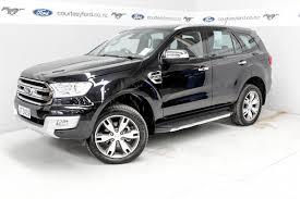 2016 Ford Everest Ford Everest Titanium Diesel 7 Seater 2016 Courtesy Ford New