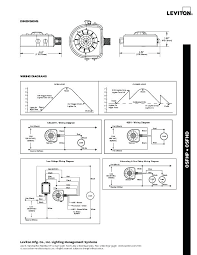 pir wiring diagram of fixture mount high bay sensor with integrated