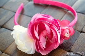 flower headbands diy diy flower headband