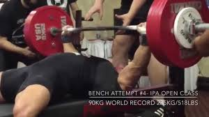 World Bench Press Record Powerlifting Motivation Lb4lb World U0027s Strongest Bodybuilder