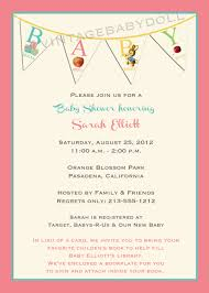 book baby shower invitations gallery craft design ideas best