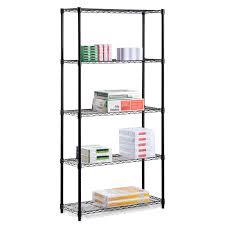 Plastic Shelving Unit by Garage Storage Shelves Plastic Storage Shelves Organize It