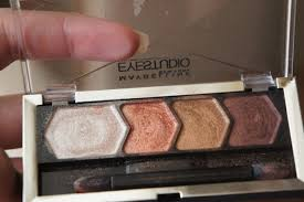 maybelline eye studio color plush silk eyeshadow copper chic review