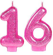 sweet 16 party supplies pink glitter 16 candle sweet 16 party supplies decorations