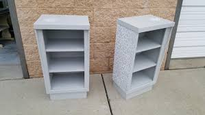 pair mid century modern bookcases night stand pick up only pair mid century modern bookcases night stand pick up only storage retro bedroom furniture night table