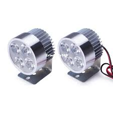 Super Bright Led Light Bar by Motorcycle Headlight Driving Fog Light Car Spotlights 12w Super