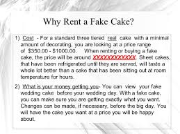 copy cakes llc rent one of our beautifaux cakes ppt download