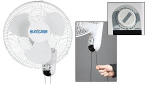 ecoplus wall mount fan hurricane 16in wall mount oscillating fan