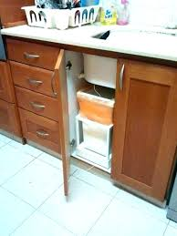 kitchen cabinet trash pull out kitchen cabinet trash can kitchen pull out trash can bin for inside