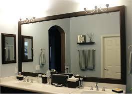 bathroom mirror trim ideas bathroom mirror trim ideas 3greenangels com