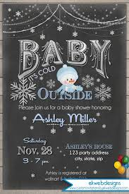 baby it s cold outside baby shower winter baby shower invitation baby it s cold outside printable