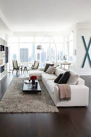 low profile sofa living room contemporary with shag vertical