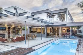 cool houses with pools awesome house with glass for outdoor can be combined with cool