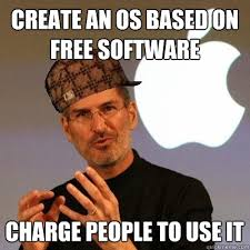 Memes Free To Use - create an os based on free software charge people to use it