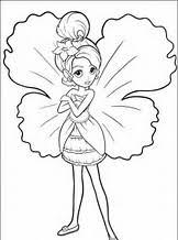 coloring pages barbie fairy secret images gallery