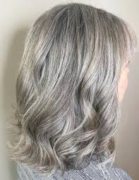 over 60 hair color for gray hair 60 gorgeous hairstyles for gray hair