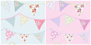 Shabby Chic Wallpapers by Shabby Chic Bunting How Cute Is This Direct Wallpaper