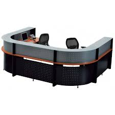 Two Person Reception Desk U Shaped Glass Top 2 Person Reception Desk Free Freight