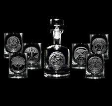 gifts engraved engraved barware army navy marines air bar glass gifts