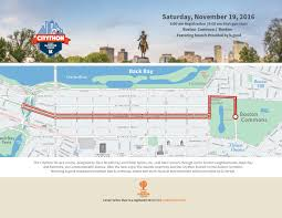 Boston Bike Map by Camp Harbor View Citython 5k Presented By Optum Boston Ma 2017