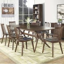 9 piece dining room set modern 9 piece dining room sets allmodern