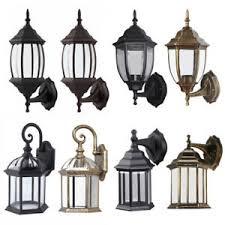 Antique Porch Light Fixtures Antique Outdoor Wall Light L Lantern Sconce Exterior Porch