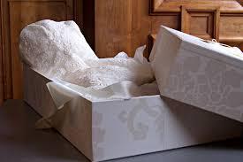 wedding dress box how to prepare your wedding dress for storage