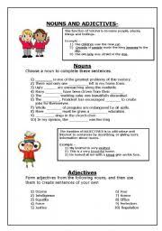 english teaching worksheets nouns