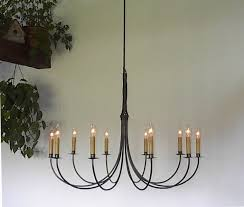 Chandelier Accessories Ace Wrought Iron Custom Large Wrought Iron Chandelier 10 Arm