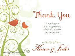 thank you wedding gifts wedding thank you messages 365greetings