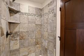 tile shower in master azalea floor plan slate tile
