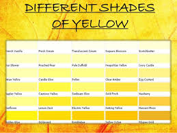 shades of yellow prepossessing 70 different shades of yellow decorating design of 22