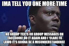 Group Text Meme - mhm mhm imgflip
