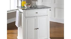 crosley furniture kitchen cart crosley furniture cambridge solid granite top portable kitchen