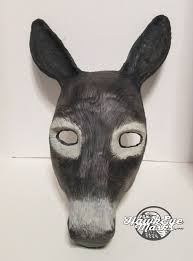 jaguar costume horse mask made to order horse costume mask handmade hand