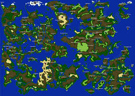 Fantasy World Map by Image Gaia Ffbp Worldmap Png Final Fantasy Fandom Wiki