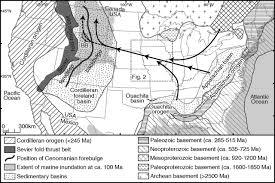 Ouachita Mountains Map Detrital Zircons From Cretaceous Midcontinent Strata Reveal An