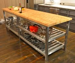 Kitchen Island With Butcher Block Top by Kitchen Island With Butcher Block Top Sarabi Studio