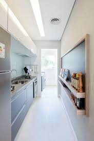 narrow kitchen design ideas 31 stylish and functional narrow kitchen design ideas digsdigs
