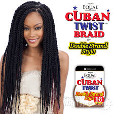 how many bags of pre twisted jaimaican hair is needed freetress equal synthetic braid cuban twist braid 16 wigtypes com